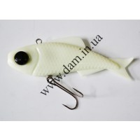 Риппер FZ T-BONE VIBRO SHAD - 100MM - PEARL WHITE  5731010