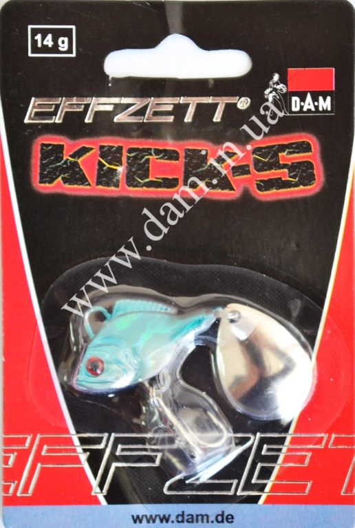 Блесна FZ KICK-S SPINNER BLUE 14G 5192003