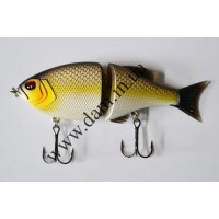 Вобллер EFFZETT POWER STRIKER - 2-JOINTED SWIMBAIT 11 CM - PIRANHA  5906611