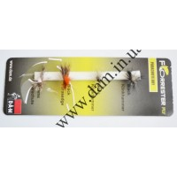 Набор мушек FORRESTER FLY - PARACHUTE RIVER DRY FLIES (н/с) 5700013