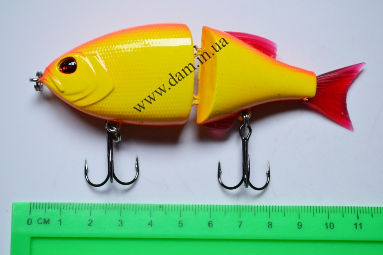 Вобллер EFFZETT POWER STRIKER - 2-JOINTED SWIMBAIT 11 CM - EXOTICA  5907111