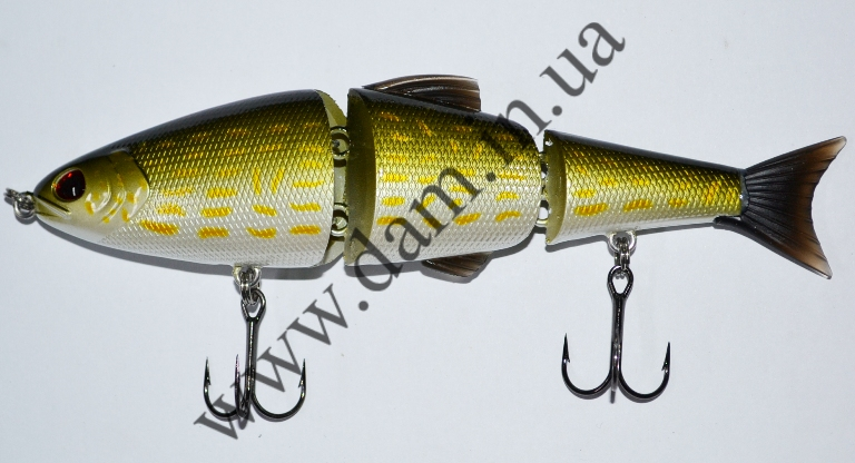 Вобллер EFFZETT POWER SKATER - 3-JOINTED SWIMBAIT 14 CM - PIKE  5908014