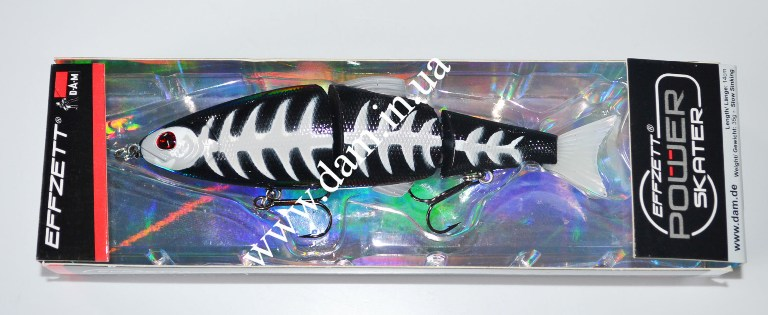 Воблер EFFZETT POWER SKATER - 3-JOINTED SWIMBAIT  5908214