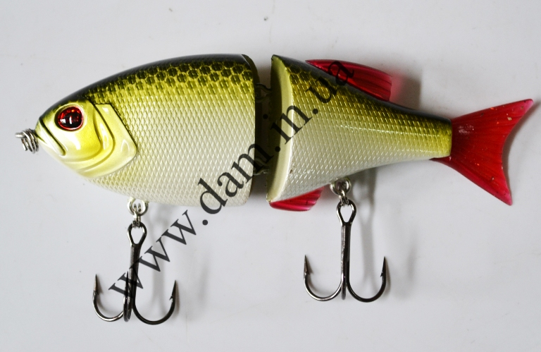 Вобллер EFFZETT POWER STRIKER - 2-JOINTED SWIMBAIT 11 CM - ROACH  5906311
