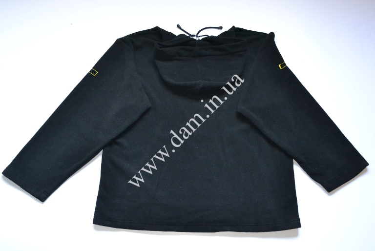Пуловер MAD HOODED FLEECE - BLACK - XL  8682003
