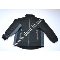 Куртка DAM SEAMLESS SOFTSHELL JACKET BLACK - L  8834003