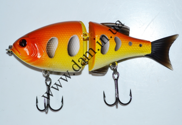 Вобллер EFFZETT POWER STRIKER - 2-JOINTED SWIMBAIT 11 CM - MIRROR CA  5906211
