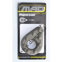 Грузило MAD MAGNET LEAD 1уп=1 шт Вес-128 г.  8090128