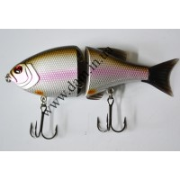Вобллер EFFZETT POWER STRIKER - 2-JOINTED SWIMBAIT 11 CM - SILVER SP  5906511