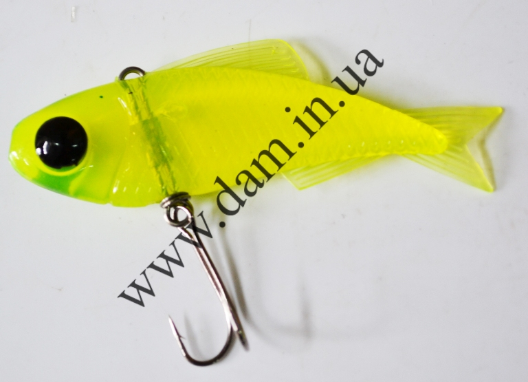 Риппер FZ T-BONE VIBRO SHAD - 85MM - MELLOW YELLOW  5730208